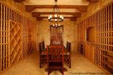Pas de Hoge Kelder van de Wijn van het Meubilair van het Eind Houten voor Decoratieve Luxe aan