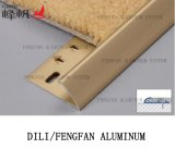 Accessori di alluminio Carpetstrip della decorazione per orlare moquette