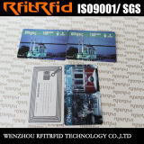 cartão sem contato impresso do metro de 13.56MHz costume programável RFID para turistas
