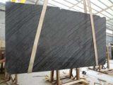 Fornitore di marmo delle lastre di Serpeggiante del nero di prezzi competitivi