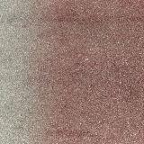 Cuero sintetizado ventilado del bolso del zapato de la ropa del PVC de la PU del brillo