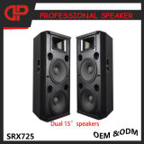 단계 직업적인 오디오 스피커는 확성기 Srx725 15 인치 이중으로 한다