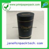 カスタム豪華な円形の茶ワインの包装の紙箱
