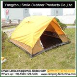 Vai a barraca dobro à prova de fogo rígida de acampamento pequena da plataforma da decoração da natureza