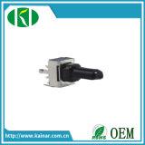 mono potenziometro rotativo di 9mm con l'asta cilindrica di plastica Wh9011-1A