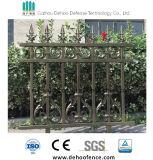 frontière de sécurité en aluminium de villa luxueuse de mode pour le jardin et la résidence