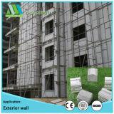 Grande painel de parede do sanduíche do cimento do EPS da resistência de geada para a construção pública