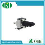potenziometro rotativo di 9mm con l'asta cilindrica isolata Wh9011-1