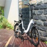"36V 250W 20の""女性のための折る電気バイクの自転車Ebike"