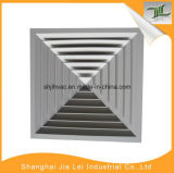 Einteilige Methoden-quadratischer Luft-Diffuser (Zerstäuber) des Aluminium-4
