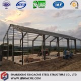 Construction en acier de cadre de porte pour l'entrepôt/grange