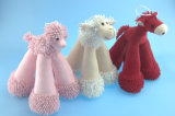 Hundespielzeug-langes Bein-Pony, Lampe, Welpe 3 Asst.