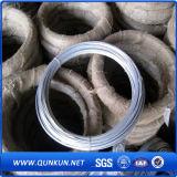 Alambre de hierro chapado en zinc para uso de encuadernación