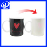 Kaffee-keramische Sublimation-magische Farben-ändernder Becher