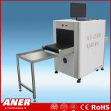 Explorador del control de seguridad de la radiografía del examen de la seguridad del bagaje de la exposición con la alta talla 500X300m m del túnel de la sensibilidad