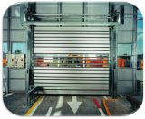 Balanceo de alta velocidad ajustable del garage del acero inoxidable de la velocidad encima de la puerta