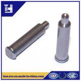 Remache de cabeza plana / redonda de metal de encargo del remache