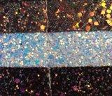 Tela de cuero de la PU del brillo de lujo para las vendas de reloj de las sandalias de la tapicería Hw-511