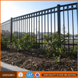 Cerca decorativa del jardín de la cerca de la casa de la cerca del hierro/del hierro de Europa