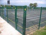 Caldo tuffato rete fissa rivestita della polvere & galvanizzata di qualità di sicurezza della barriera della rete metallica della rete fissa del giardino
