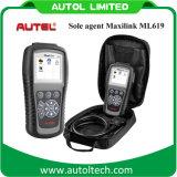 100% Original Nouveaux Autel Maxilink Ml619 Voies de diagnostic OBD de haute qualité Autel Al619 Maxilink Ml619 Scanner OBD