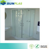 Alto strato lucido di PMMA/ABS per il cassetto e la parete dell'acquazzone
