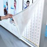 Cadre léger de Frameless de double tissu en aluminium des côtés DEL
