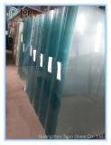 glace de flotteur inférieure ultra claire de fer de 3mm-19mm avec la ère pente (UC-TP)