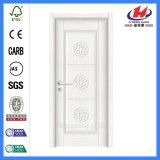 Puertas plásticas plásticas de la puerta del precio de la puerta del tocador del PVC Jhk-P15