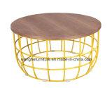 674-1 mesa de centro redonda moderna do projeto agradável
