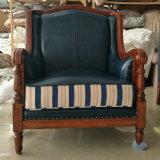 Новая софа кожи типа Америка прибытия для домашней мебели (6011#)