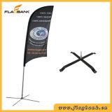 bandeira de alumínio da pena da impressão de Digitas da exposição de 3.9m/bandeira do vôo