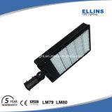 Luz do diodo emissor de luz da rua do lote de estacionamento do jardim garantia de 5 anos