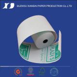 Le roulis BPA de papier thermosensible de caisse comptable libèrent le papier thermosensible Rolls