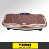 placa loca de la vibración de la potencia de la aptitud 200W que adelgaza masaje loco del ajuste