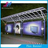 Освещенное контржурным светом PVC знамя гибкого трубопровода для автобусной станции (510GSM 300D*500D)