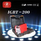 プラスチックケース(IGBT-160F/180F)が付いているインバーター溶接工