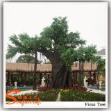 La decoración del hogar artificial Banyan Ficus Árbol