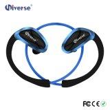 Fone de ouvido sem fio estereofónico do esporte do auscultadores dos auriculares de Bluetooth para o iPhone Samsung