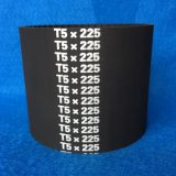 Cinghia di sincronizzazione di gomma industriale/cinghie sincrone T5-450 455 460 475 480