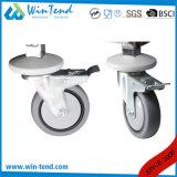 Grosser Größen-Spiegel-Shinning Polierregal, das bewegliche Tisch-Laufkatze mit dem 4 TPR Rad von Hand eindrückt