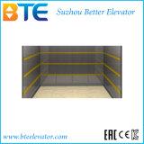 El elevador de carga del Ce para las mercancías entrega con la cabina de los Ss de la rayita