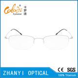 Telaio dell'ottica di Eyewear di vetro di titanio Semi-Senza orlo semplici del monocolo (8510)