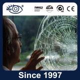 película transparente antiexplosão da segurança 4mil & de segurança para o indicador do edifício