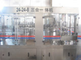 Máquina de rellenar automática del agua mineral del Ce Cxgf24-24-8 12000bph