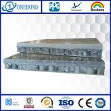 Панель стены сота каменного зерна алюминиевая