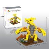 los bloques de la serie del dinosaurio del kit del bloque 14889330-Micro fijaron el juguete educativo creativo 280PCS - Brachiosaurus de DIY