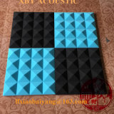 Mousse acoustique en polyuréthane en forme de cale pour absorption acoustique Panneau acoustique Panneau mural Panneau de décoration Panneau de plafond