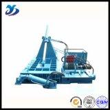 La ferraglia residua di riciclaggio orizzontale idraulica scheggia le presse per balle di alluminio dei trucioli
