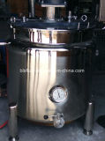 Doppia caldaia industriale del latte del miscelatore del rivestimento dell'acciaio inossidabile 200L GPL